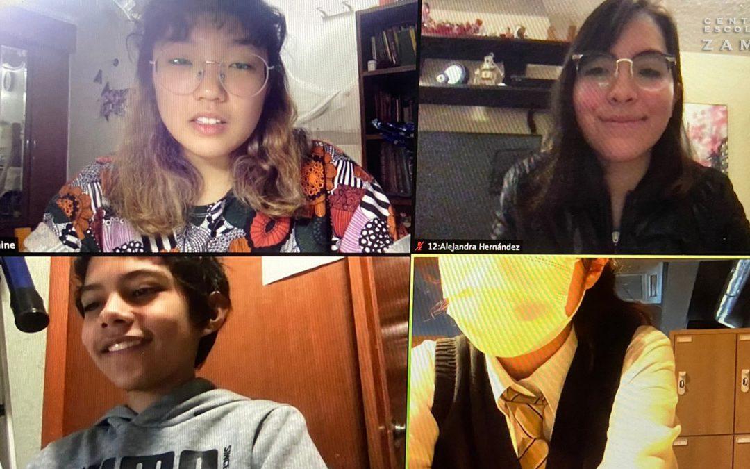 Estudiantes Zamá colaboran con universidad de Japón